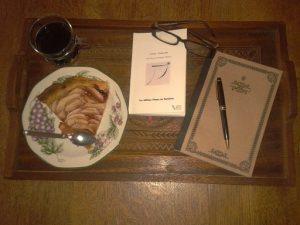 21h34, un roman à déguster
